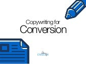 Copywriting for Conversion