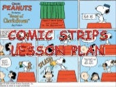 Comic strip - lesson plan