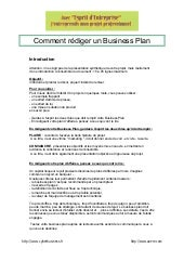 Comment rediger un_business_plan