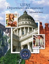 Utah Department of Commerce 2009 An...