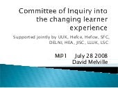 Committee Of Inquiry M@1 July 2008 V03