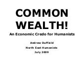Common Wealth!