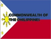 Commonwealth of the philippines