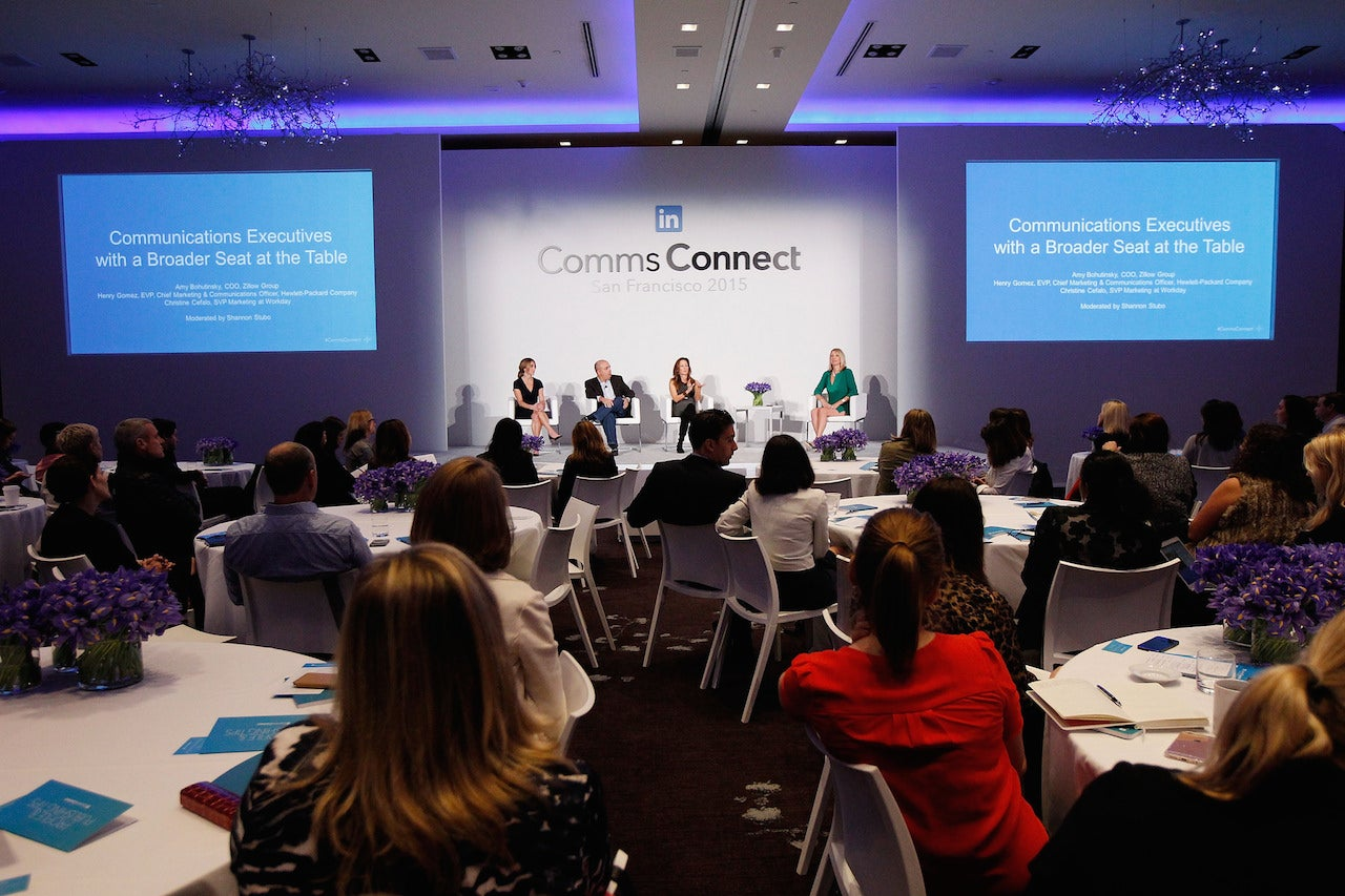 Comms Connect SF 2015: Communications Executives with a Broader Seat at the Table