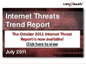 July 2011 Internet Threats Trend Re...