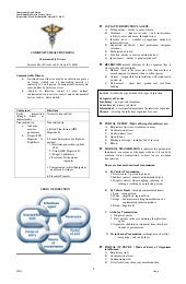 Communicable Disease Handouts