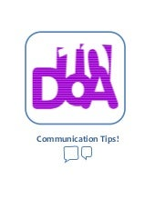 Communication Guide for 10 DoA