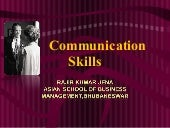 Communication skills development
