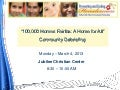 100,000 Homes Fairfax: A Home for All - Community Debriefing