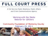 Community foundation of monterey - ...