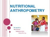Nutritional Anthropometry
