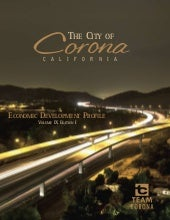 2009 City of Corona Economic Develo...