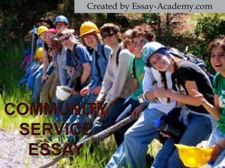 What can be a good conclusion for a community service reflective essay?