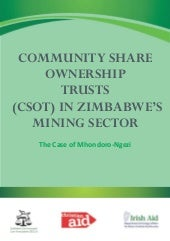 Community share ownership trusts in...