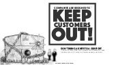 Companies are designed to keep customers out