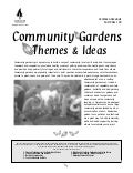 Community Gardens: Themes and Ideas