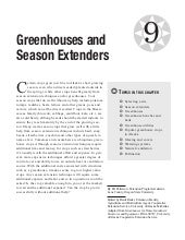 Greenhouses and Season Extenders fo...