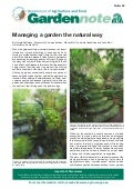 Managing a Garden the Natural Way - Western Australia