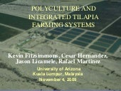 Polyculture and Integrated Tilapia ...