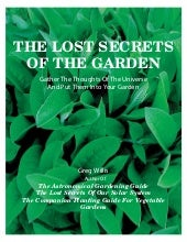 The Lost Secrets Of The Garden: The...