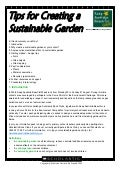 Tips for a Sustainable Garden - Scholastic Australia