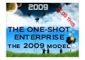 The 2009 company - a one shot enterprise