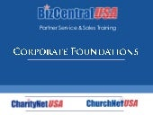 Partner Training: Company Foundations