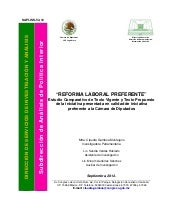 Comparativo reforma laboral sep2012...