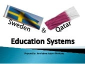 Comparison of Qatar & Sweden educat...