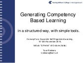 Competency based learning toon rekkers