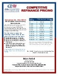 Competitive Refinance Pricing