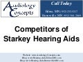 Competitors of Starkey Hearing Aids