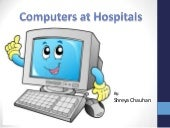 Use of Computers In Hospitals