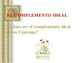 Complemento ideal en el matrimonio