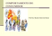 Comportamento do consumidor   pós d...