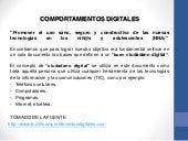 COMPORTAMIENTOS DIGITALES