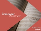 Composer the right way - DPC15