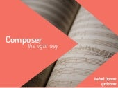 Composer the right way [SweetlakePHP]