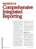 Comprehensive integrated reporting fei article by david phillips mike willis and liv apneseth watson