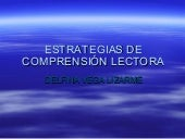 Diapositiva: Comprension lectora