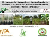 Jefwa - Do commercial biological an...