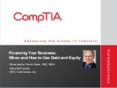 CompTIA - Financing Your Business