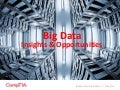 Big Data Insights & Opportunities