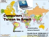 Exporting Computers from Taiwan to ...