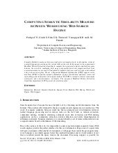 Computing semantic similarity measu...