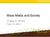 Mass Media and Society Chapter 8: M...