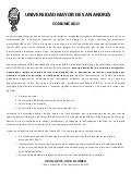 Comunicado rep censo 2012
