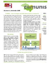 Comunis newsletter 1 Italiano