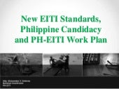 Comval BK: New EITI Standards, Phil...