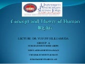 Concept and theory of human right g...